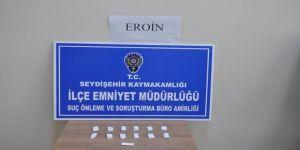 Eroin ele geçirildi: 2 gözaltı