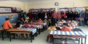 İslahiye İibf Öğrencilerinden Kardeş İlkokul İle Kardeş Üniversitesi Projesi
