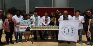 Tıp Fakültesi öğrencileri Avrupa Halk Sağlığı Haftasını kutladı