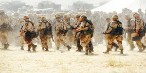 Körfez'e 120 bin asker