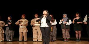 Nevü Öğrencileri Çanakkale Destanını İşaret Diliyle Canlandırdılar