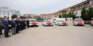 Balıkesir Polisi'ne 6 Yeni Hizmet Aracı