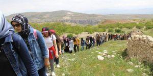 Dağcılık Ve Kış Sporları Topluluğu'ndan Levent Vadisi Yürüyüşü