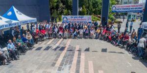 Şahinbey'de 42 Engelliye Tekerlekli Sandalye