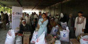 TİKA'dan Afganistan'daki ihtiyaç sahibi ailelere yardım