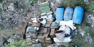 PKK'ya ait mühimmat deposu bulundu