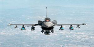 Irak'ın kuzeyinde teröristlere ait hedefler vuruldu