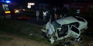 Tokat'ta trafik kazası: 2 polis yaşamını yitirdi
