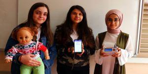 Liselilerden 'nöbetçi ateş ölçer' cihazı