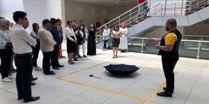 Ankaralı sanatçı Us'tan Zeugma Mozaik Müzesi'nde sergi