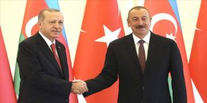 Cumhurbaşkanı Erdoğan, Aliyev'i kutladı