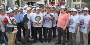 İşçiler Hürriyet'e tepkili