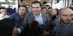 Saakaşvili Ukrayna'ya döndü