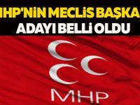 MHP'NİN MECLİS BAŞKANI ADAYI BELLİ OLDU