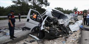 Trafik kazası sayısı yüzde 2,2 arttı