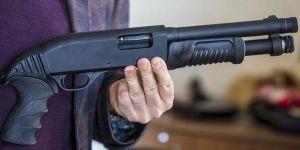 Husumetlisine tüfekle ateş etti