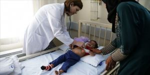 Suriyeli minik Aye Türkiye'de sağlığına kavuşacak