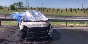 Çorlu'da tırla otomobil çarpıştı: Ölü ve yaralılar var