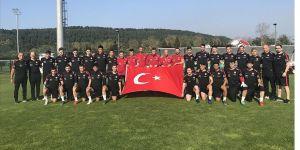Ümit Milli Futbol Takımı'nda hedef Avrupa Şampiyonası