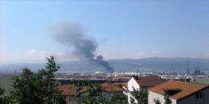 Tüpraş İzmit Rafinerisi'nde dumanlanma