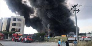 Yangın sonrası fabrika sahibi gözaltında