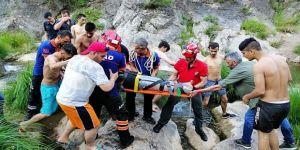 Gebze Ballıkayalar'da kurtarma operasyonu