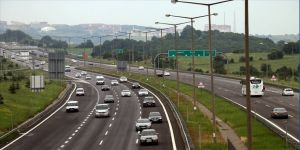 Bayram tatilinde Bolu Dağı'ndan 710 bin araç geçti
