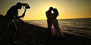 Düğün fotoğrafçılarının doğal platosu Akçakoca