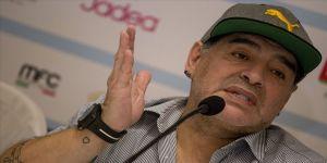 Maradona sağlık sorunları nedeniyle Dorados'tan ayrıldı