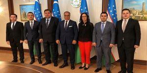 GOSB yönetiminden Özbekistan'a ziyaret