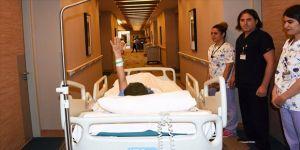 Asitli saldırı mağduru Berfin 12 saat süren zorlu ameliyattan çıktı