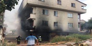 5 kişi dumandan etkilendi