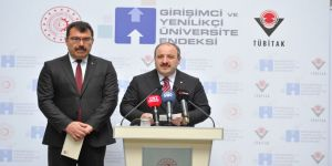 'Girişimci ve Yenilikçi Üniversite Endeksi' açıklandı