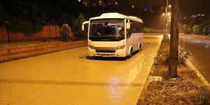 Zonguldak'ta sağanak ulaşımda aksamaya neden oldu