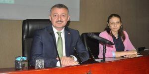 Büyükşehir'de sakin meclis
