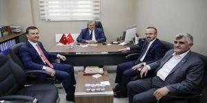 AK Parti heyetinden Saadet Partisi'ne ziyaret