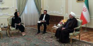 Ruhani: ABD'nin müdahaleci askeri varlığı bölgedeki sorunların kaynağıdır