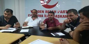 Refah Çayırova basın toplantısı düzenledi