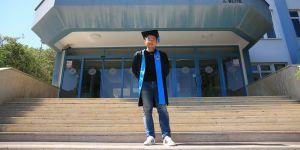 Akdeniz Üniversitesinin ilk Çinli mezunu