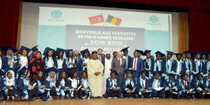 Maarif Okullarında mezuniyet heyecanı