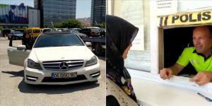 'Uslanmayan sürücü'nün aracı annesine teslim edildi