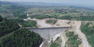 İhsaniye Barajı'nda sona doğru