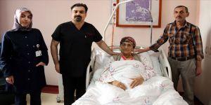 Amansız hastalıktan 'literatürlük ameliyat'la kurtuldu
