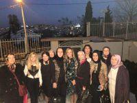 Şebnem Türkkan kadınları ağırladı