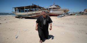 İsrail zulmü Gazzeli balıkçıları da mağdur ediyor