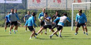 Kulüpsüz futbolcular Bolu'da kampa girdi