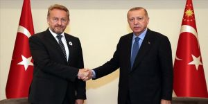 Erdoğan, Bakir İzetbegoviç ile görüştü