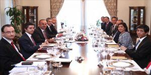 Bakan Çavuşoğlu, ASEAN ülkelerinin büyükelçileriyle bir araya geldi
