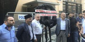 Kırım Tatar Türklerinden protesto