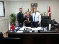Şampiyon sporcu Yavaşer'i ziyaret etti